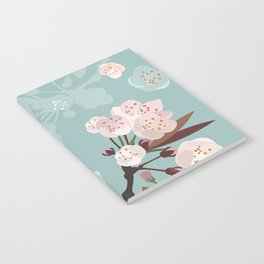 Cherry-Blossoms Notebook