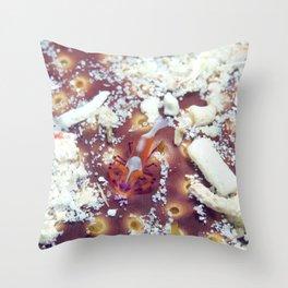 Emperor shrimp Throw Pillow