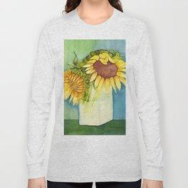 Sleepytime Sunflowers Long Sleeve T-shirt