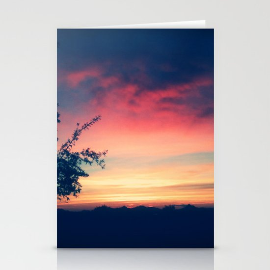 An Arizona Sunset Stationery Cards