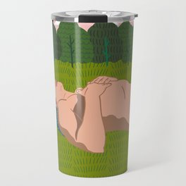 Sheep's Meadow Dreaming Travel Mug