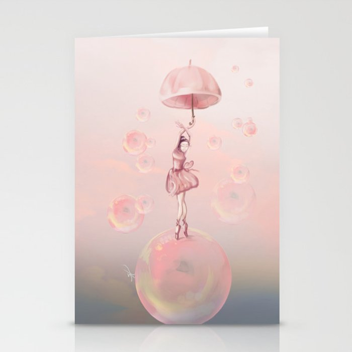 Dance in the dream Stationery Cards