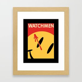Who Watches Who? Framed Art Print