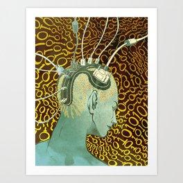 Brainstorming Art Print