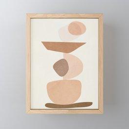 Balancing Elements II Framed Mini Art Print