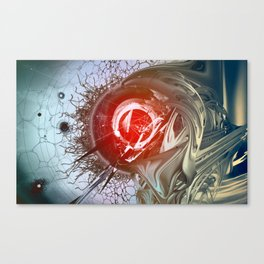 The System Canvas Print