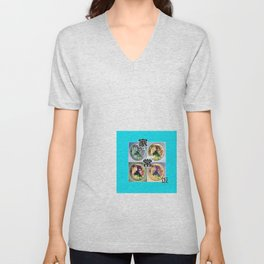 SINGAPORE HOME COOKED FOOD Unisex V-Neck