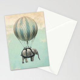 Jumbo the Flying Elephant Stationery Cards