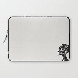 To Be Loved Laptop Sleeve