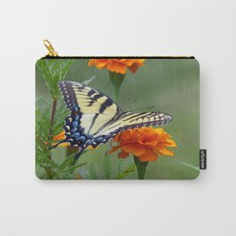 Yellow female Eastern Tiger Swallowtail  Carry-All Pouch