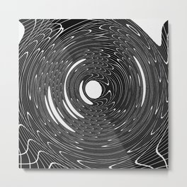 CHAOTIC WHIRL Metal Print