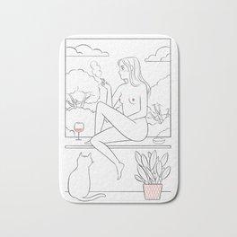 Windowsill Bath Mat