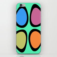 Colorful Easter Eggs iPhone & iPod Skin