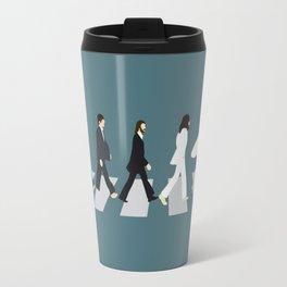 The Beattles & Surfer Man Travel Mug