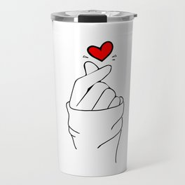 LOVE HAND Travel Mug