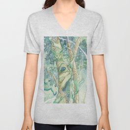 The Bumi Tree Sprites Unisex V-Neck