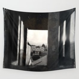 Black and White San Francisco : Some Rooftops Wall Tapestry