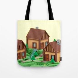 voxel hamlet Tote Bag