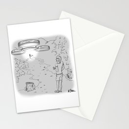 Spinner Ship Stationery Cards