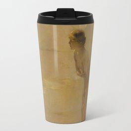 September Morn by Paul Émile Chabas, 1912 Travel Mug