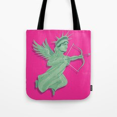 Dating in New York Tote Bag
