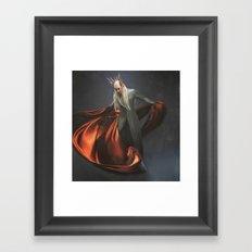 Elvish King Framed Art Print