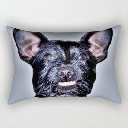 Funny Dog , Good Humor Dog Rectangular Pillow