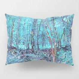 Van Gogh Trees & Underwood Turquoise & Amethyst Pillow Sham