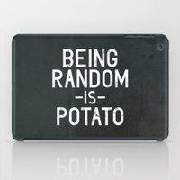 random iPad Cases featuring Random by Vectored Life