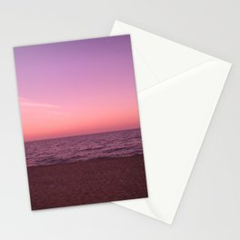Sunset in Camini Stationery Cards