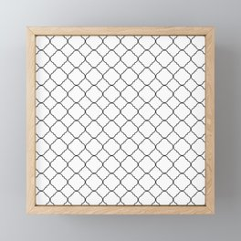 Minimalist Moroccan Framed Mini Art Print