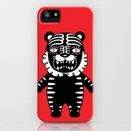 Kuro the Black Tiger iPhone Case