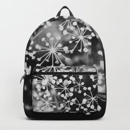 Dill In Black and White Backpack