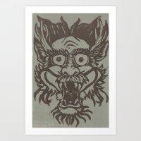Doragon Art Print