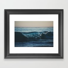 the wave ... Framed Art Print