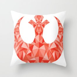 Star Alliance Throw Pillow