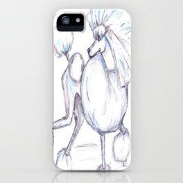 Poodlishes iPhone Case