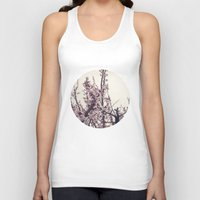 blossom Tank Tops featuring blossom by techjulie