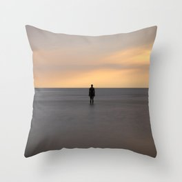 Silent Expectation Throw Pillow