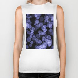 Black purple light background Biker Tank