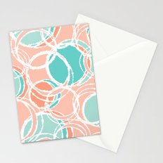 Sweet circles Stationery Cards