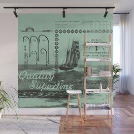 Good Hooks (mint) Wall Mural