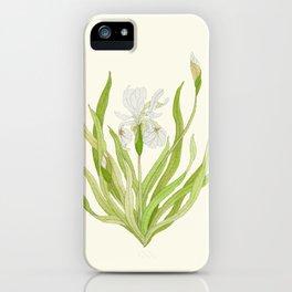 Iris Bloom iPhone Case