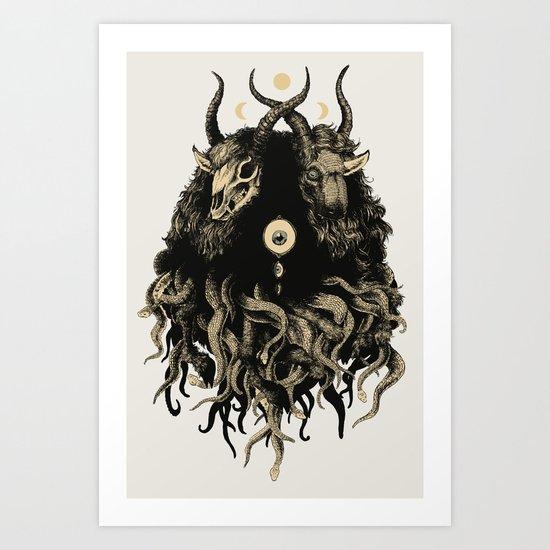 of the earth Art Print