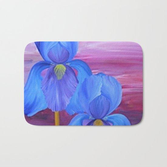 Blue Iris Bath Mat