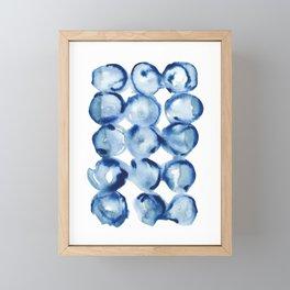 Jellyfish | Watercolour Pattern Framed Mini Art Print
