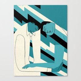 """""""How to Avoid Empathy Burnout"""" by Hanna Barczyk for Nautilus Canvas Print"""