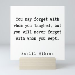 73    | Kahlil Gibran Quotes | 190701 Mini Art Print