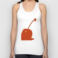cherry Tank Tops featuring cherry by cubik rubik