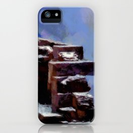 Winter Fort iPhone Case